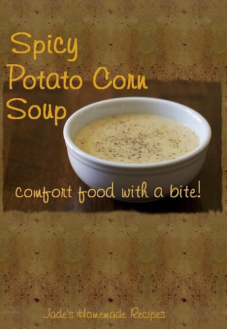Spicy Potato Corn Soup