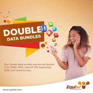 Equitel double data bundles