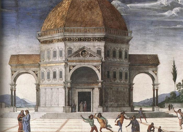 Perugino  The Sistine Chapel  TuttArt  Pittura