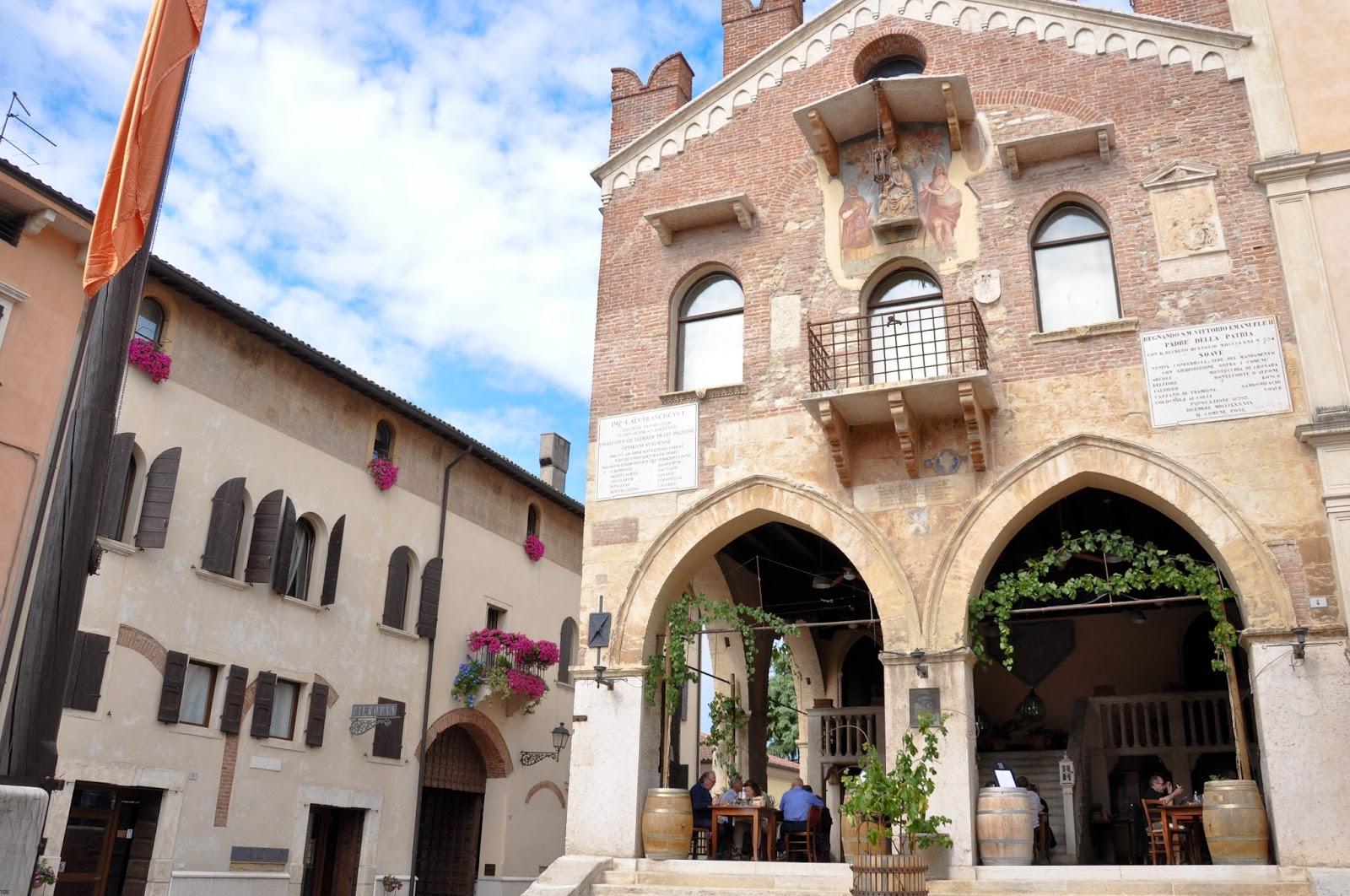 A picturesque restaurant, Soave, Veneto, Italy