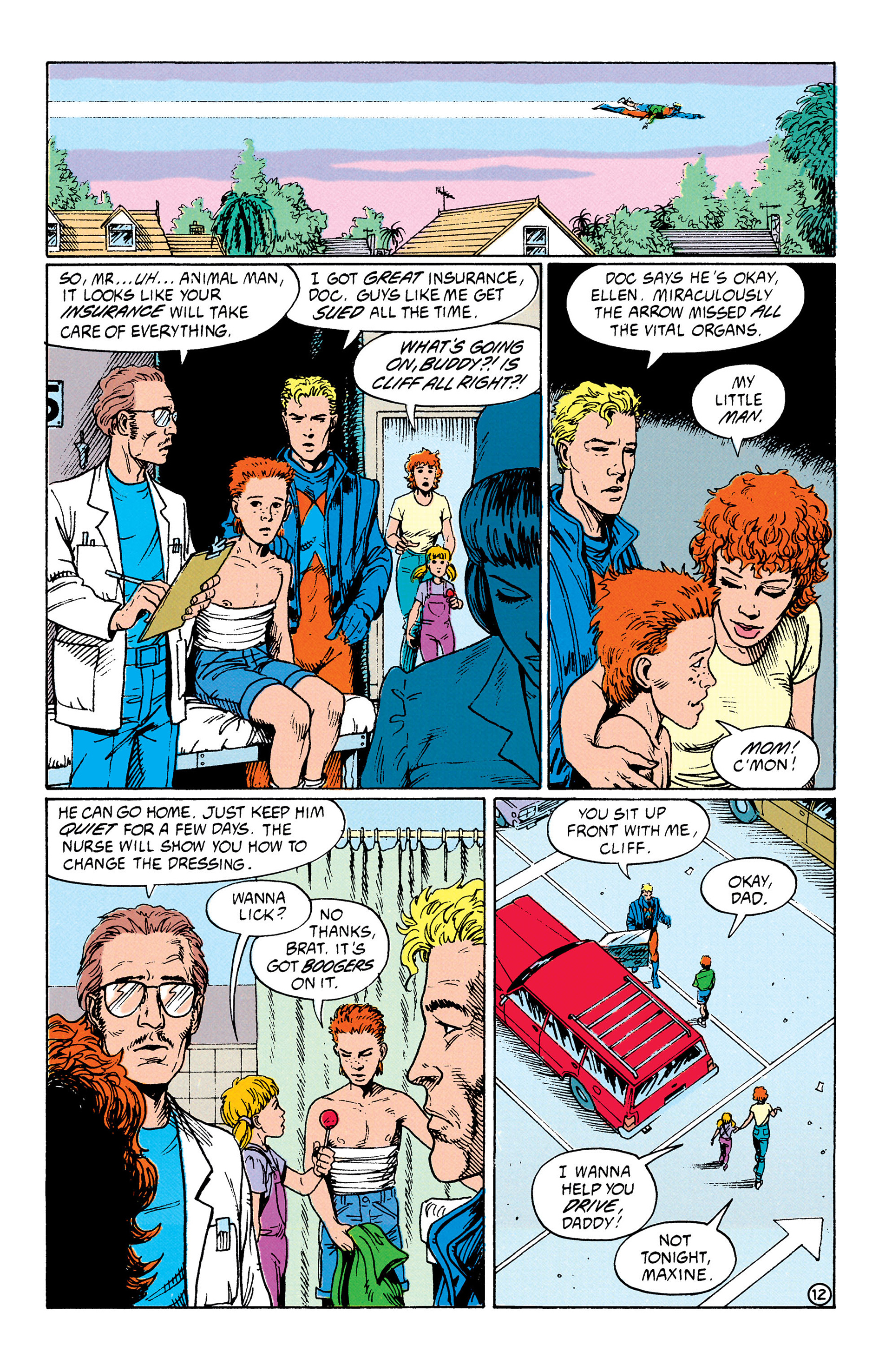 Read online Animal Man (1988) comic -  Issue #33 - 13