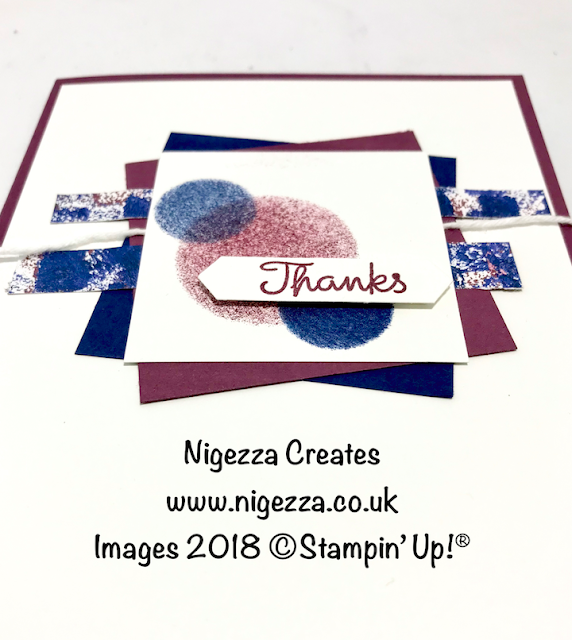 Team Sketch Challenge Using Stampin' Up!® Products Nigezza Creates