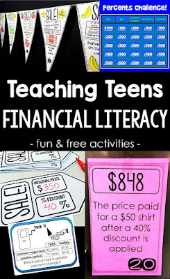 Fun activities for teaching teens financial literacy