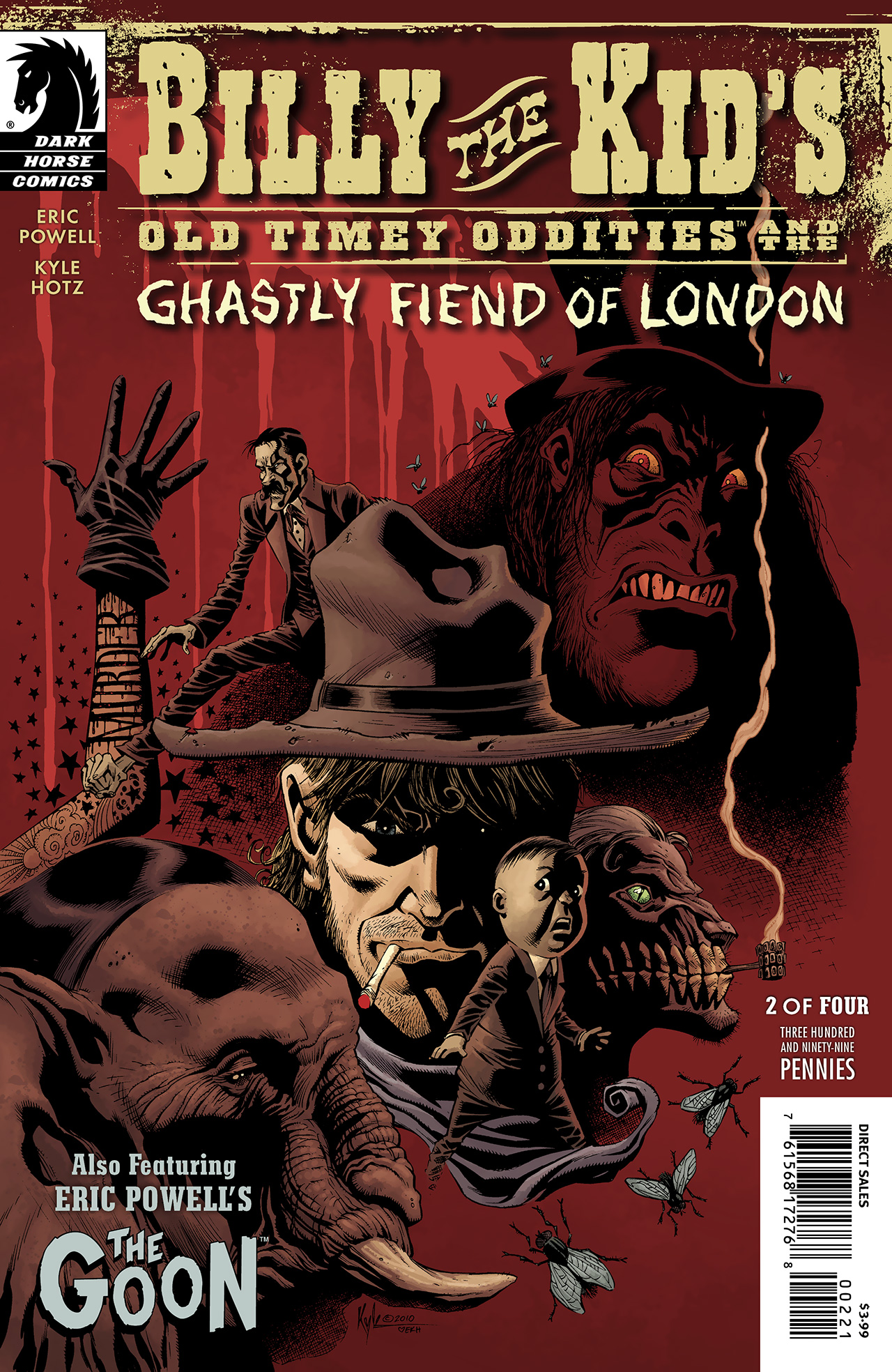 Billy the Kids Old Timey Oddities and the Ghastly Fiend of London 2 Page 1