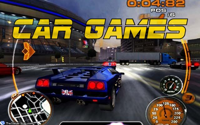 available online car games for children