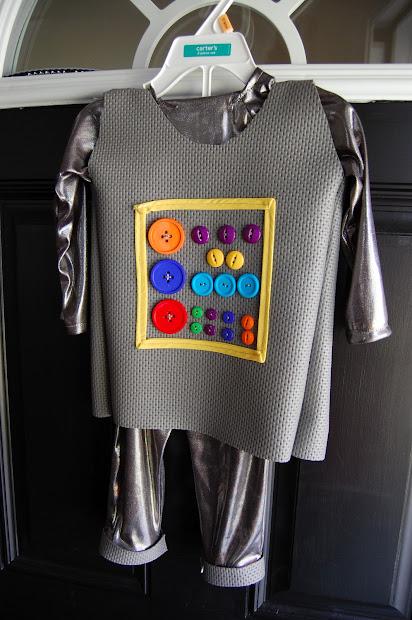Play Eat Grow Diy Toddler Robot Costume