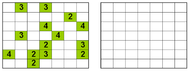 Hamle Logic Puzzle Printable