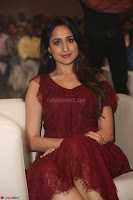 Pragya Jaiswal in Stunnign Deep neck Designer Maroon Dress at Nakshatram music launch ~ CelebesNext Celebrities Galleries 130.JPG