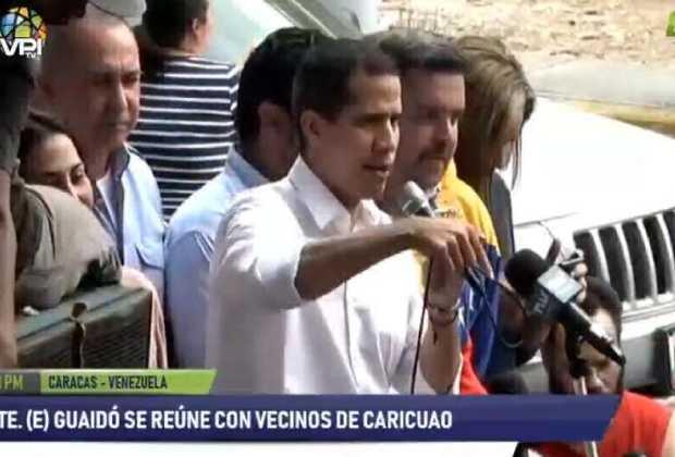 Guaidó: Iremos a exigirle a la FAN que nos acompañen en el cese de usurpación