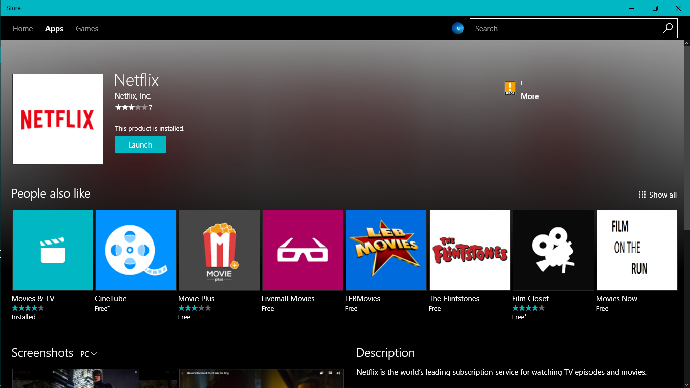 how to download netflix movieson windows 8