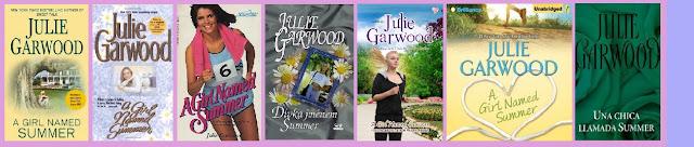 portadas de la novela juvenil romántica contemporánea Una chica llamada Summer, de Julie Garwood