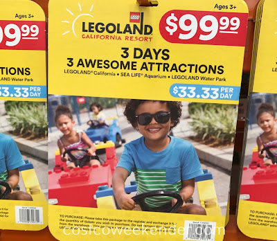 Take your family to San Diego this summer with the Legoland California Resort 3 Day Ticket