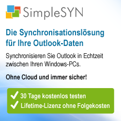 Sponsor Outlook-Synchronisation
