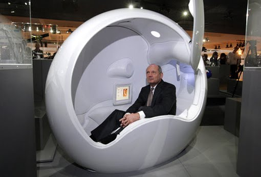The Egg Chair If It's Hip, It's Here (archives): The Ovei Pod, A