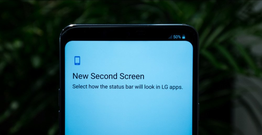 LG G7 ThinQ's New Second Screen