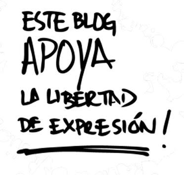 Este blog apoya la libertad de expresión.
