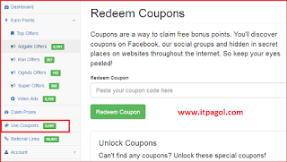 Pointsprizes coupon code list