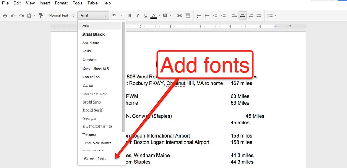 Cool Fonts On Google Docs