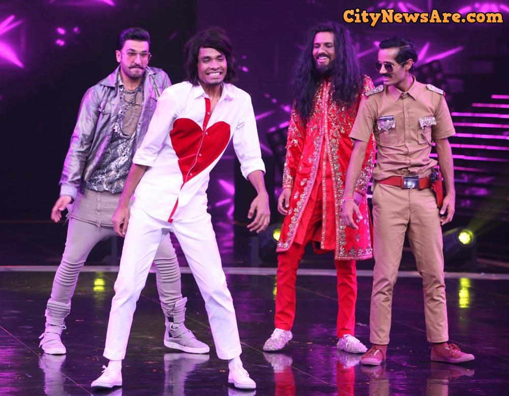 Ranveer Singh on Dance+4