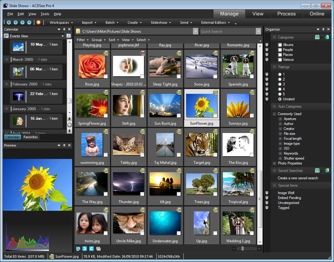 تحميل برنامج تحرير الصور مجانا ACDSee Pro 9