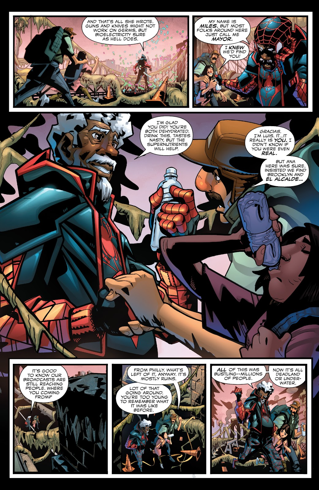 Read online Miles Morales: The End comic -  Issue # Full - 6
