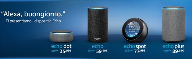 Amazon Echo e Alexa
