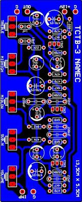 PCB Tone Control TB-3 Namec