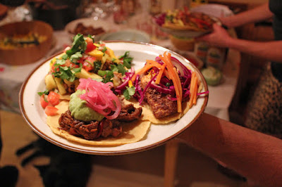 Vegan Taco Cleanse Party, Leap Day Party
