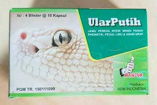 Jual kapsul jamu ular putih di surabaya