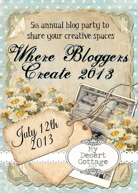 Are you ready to be inspired... again?? Where Bloggers Create 2013 is July 12th!