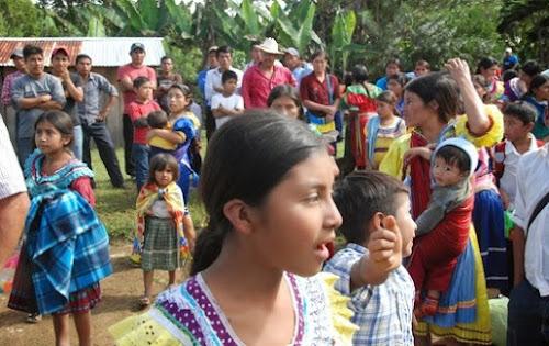 Evangélicos desplazados en Chiapas