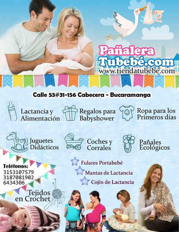 pañalera tubebe.com