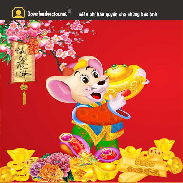 Chuột ôm cục vàng 2020