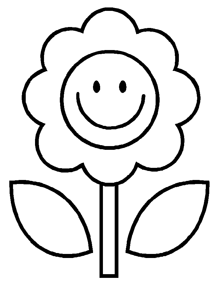 Gambar Bunga Buat Mewarnai Gambar Mewarnai Bunga