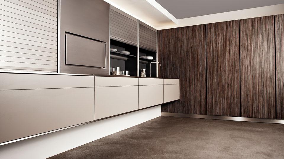 Muebles con persianas de gran capacidad para cocinas - Persianas para cocina ...