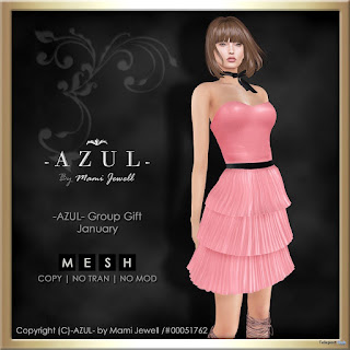 Pink Dress Group Gift by AZUL