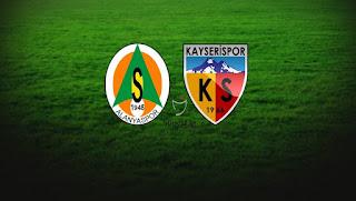 Aytemiz Alanyaspor - KayserisporCanli Maç İzle 04 Aralik 2017