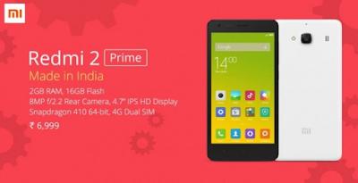 Harga Xiaomi Redmi Note 2 Prime dan Spesifikasinya