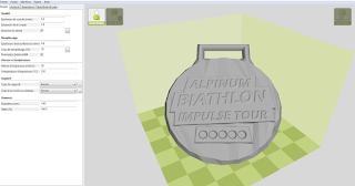 médaille 3d