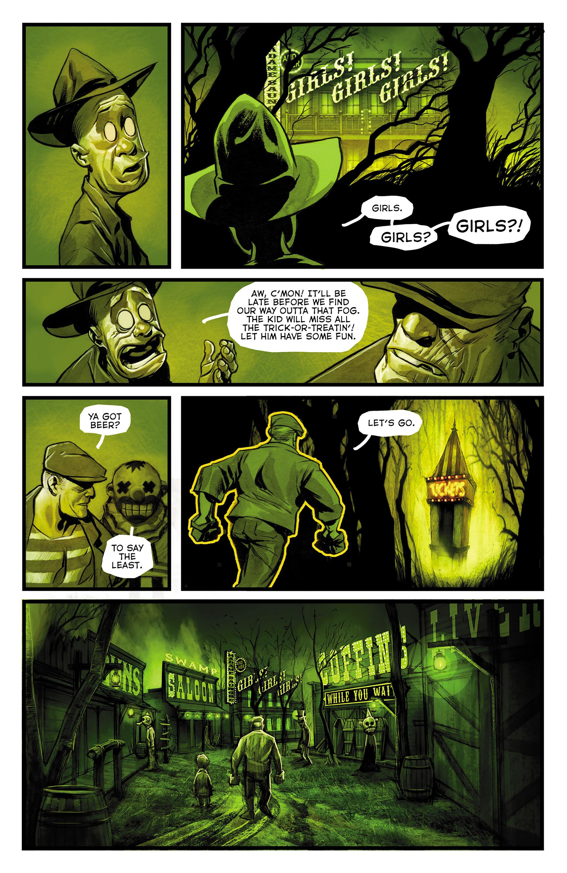 Read online The Goon: Theatre Bizarre comic -  Issue # Full - 9