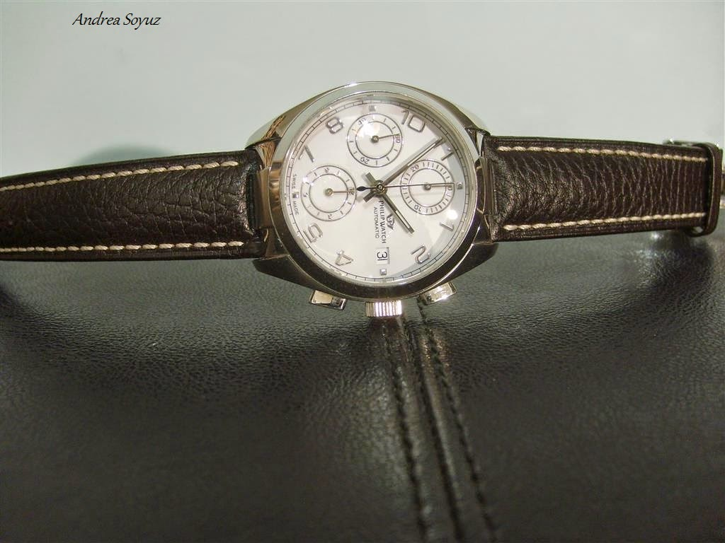 84b05374e16 Storie di Orologi Vintage  Philip Watch Thumbel Automatic ...