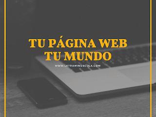 tu página web tu mundo