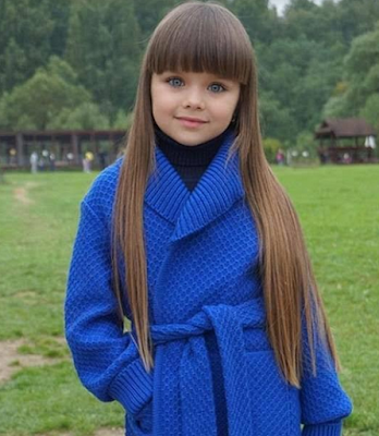 G3 Most Beautiful Girl In The World? Russian Child Model Hailed As The New Thylane Blondeau Lifestyle