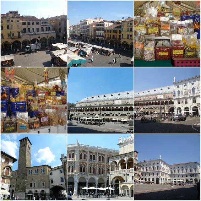 O que fazer em Padova (Pádua) além do Santo Antônio - Piazza delle Erbe e Piazza della Frutta