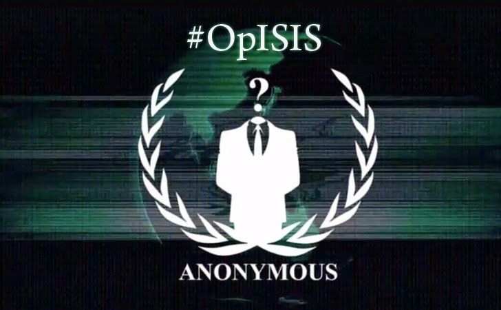 Hacktivist Group Anonymous (#OpISIS) Takes Down Islamic State (ISIS) Social Media Accounts
