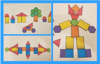 Rechteck, Raute, Ellipse, Oval, Fünfeck, Sechseck, Dreieck, Quadrat und Kreis sind als Bilddateien in vielen Farben vorhanden.