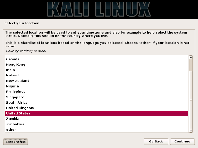 Install kali linux 2.0