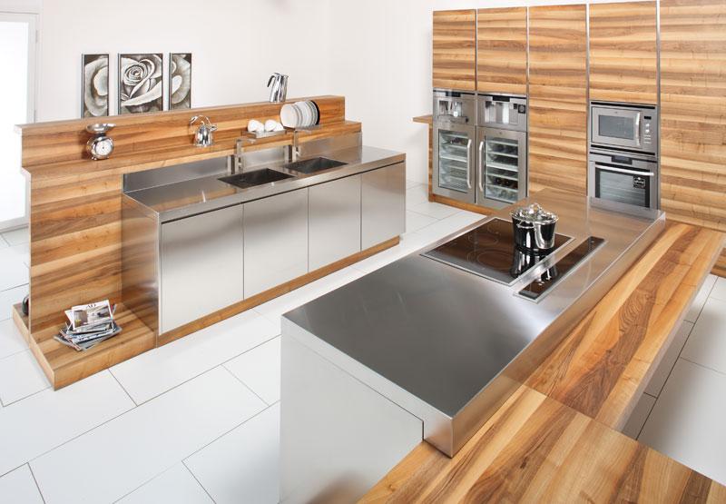 cuisine ikea inox avec des id es int ressantes pour la conception de la chambre. Black Bedroom Furniture Sets. Home Design Ideas