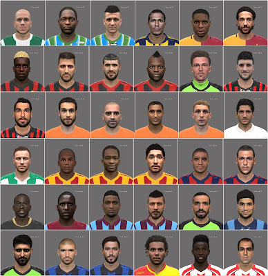 PES 2016 Turkey League Mega Facepack by Oğuz Emre