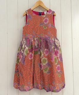 desain baju batik anak